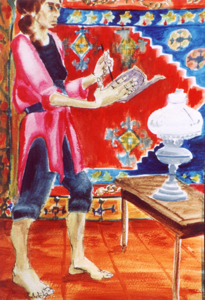 Artist! Painting by Greta Berlin