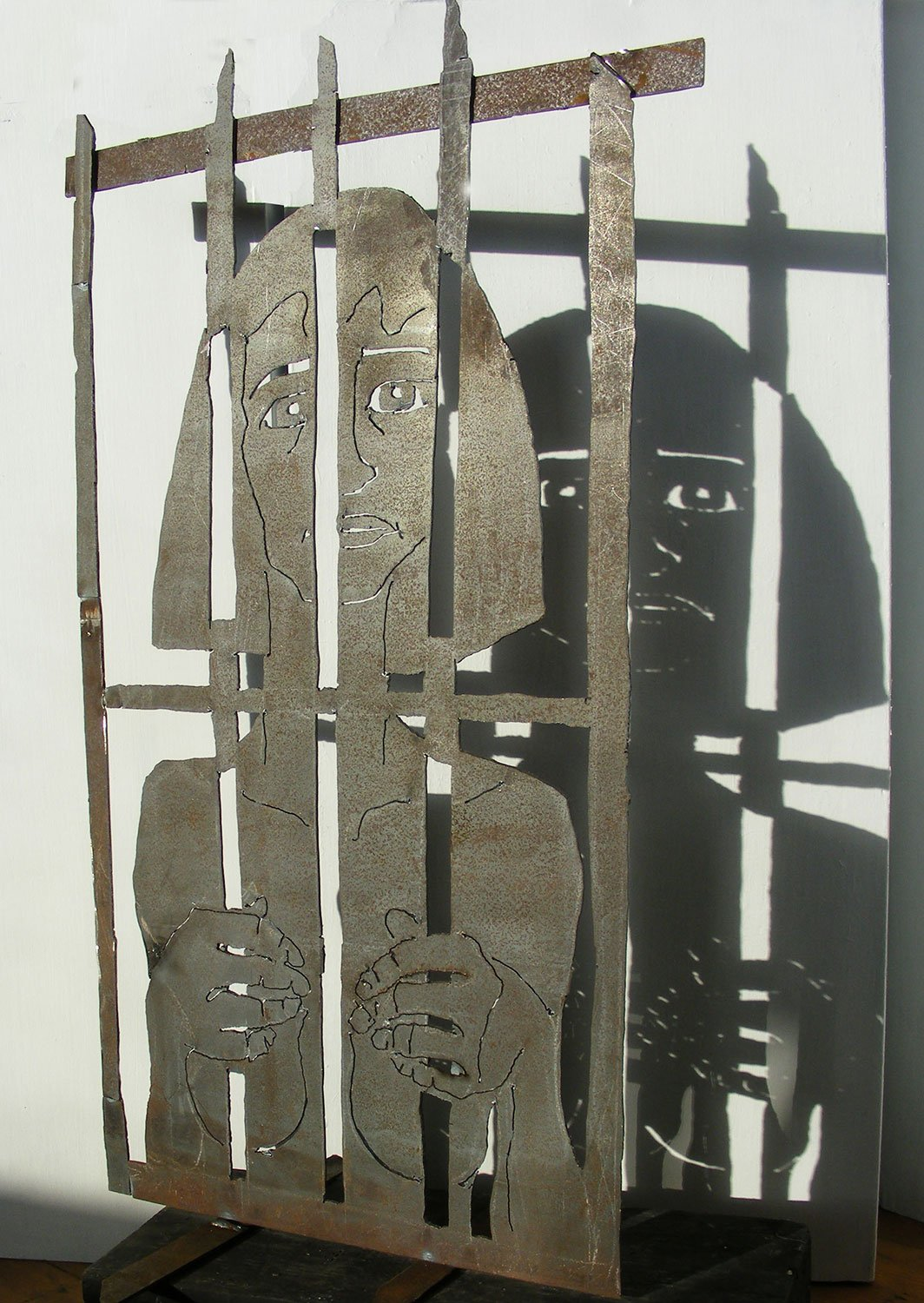 Caged3 Sculpture Greta Berlin