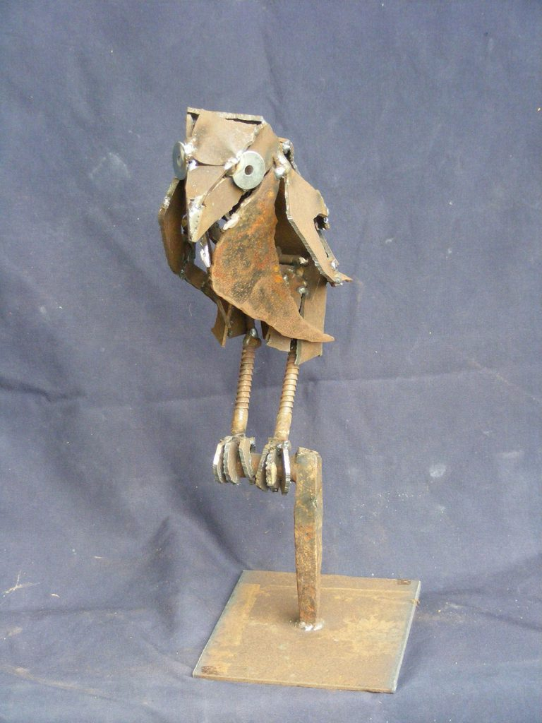 Crow small sculpture Greta Berlin