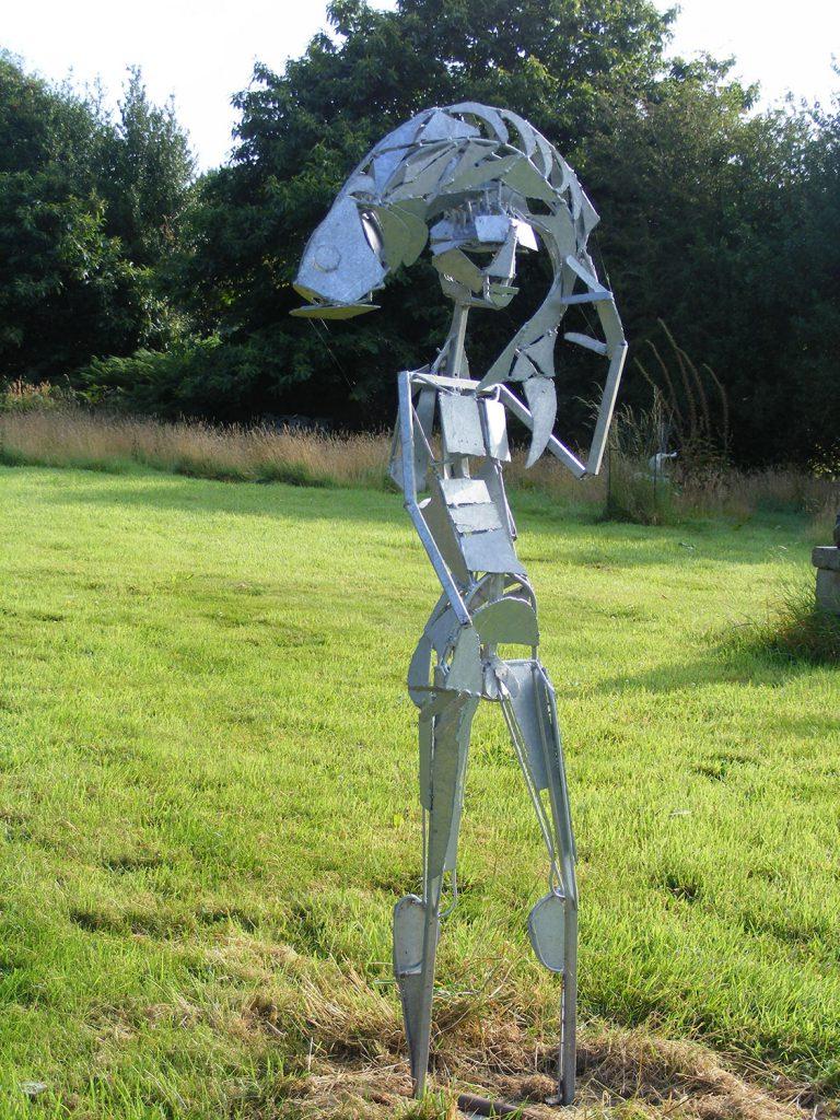 Fish Boy Sculpture Greta Berlin