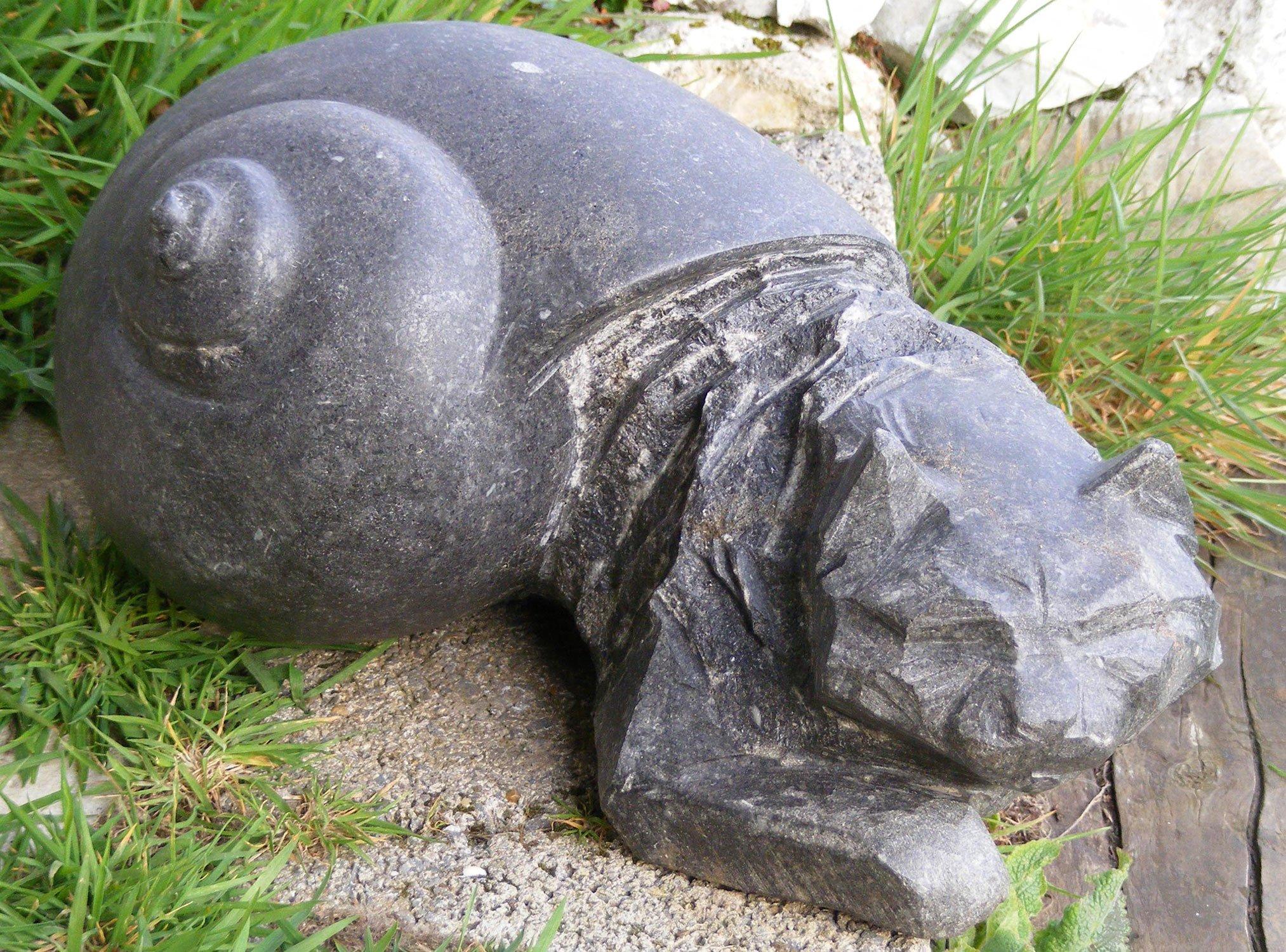 Hermit Cat Small Sculpture Greta Berlin