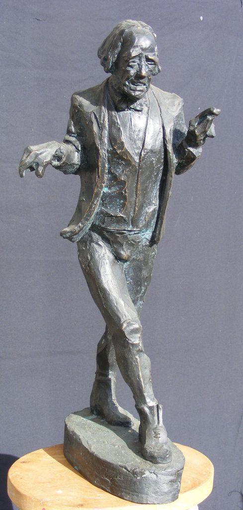 Max Wall Small Sculpture Greta Berlin