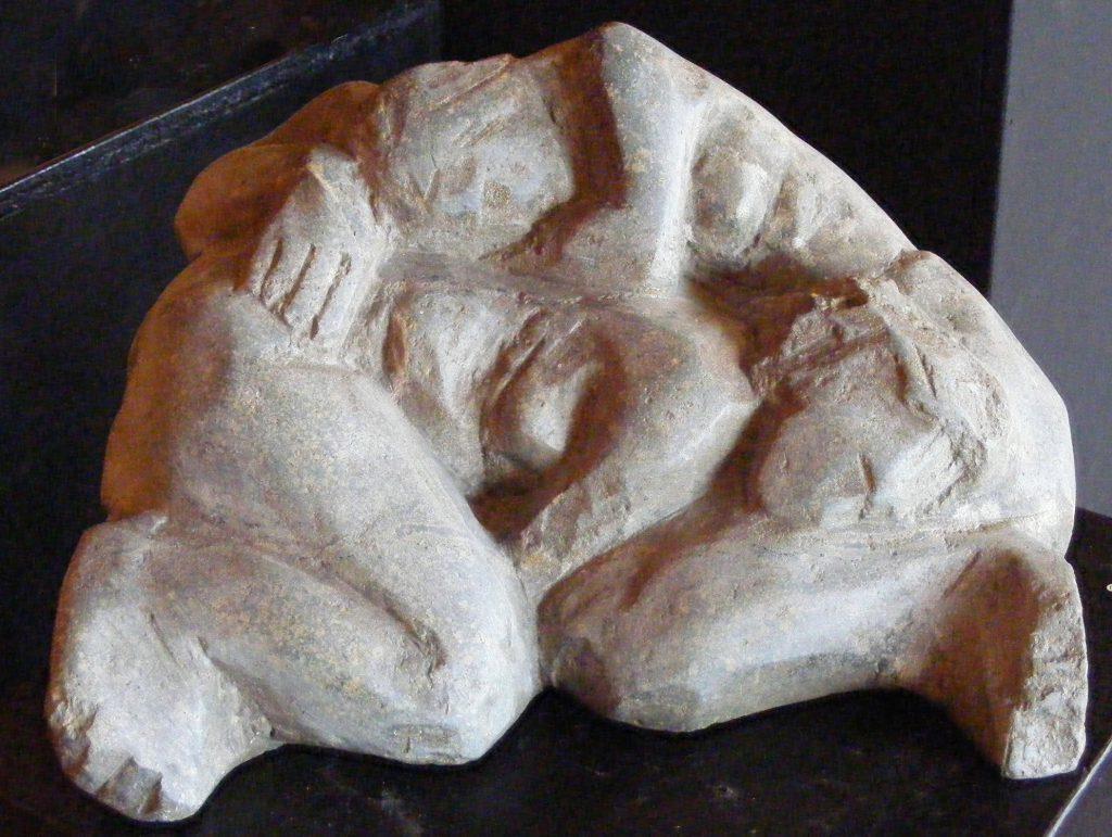 Mother Daughter Small Sculpture Greta Berlin