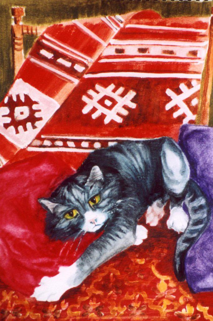 Mungo Painting by Greta Berlin