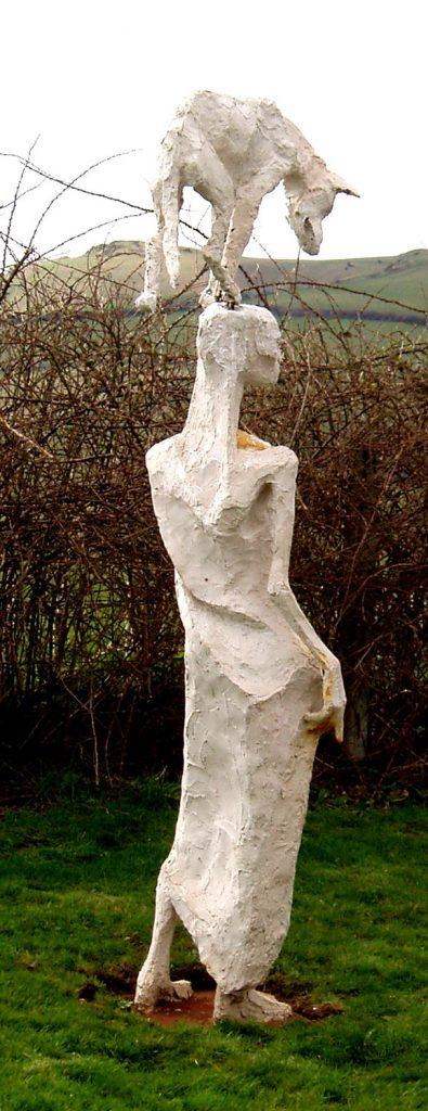 Mzee Sculpture Greta Berlin