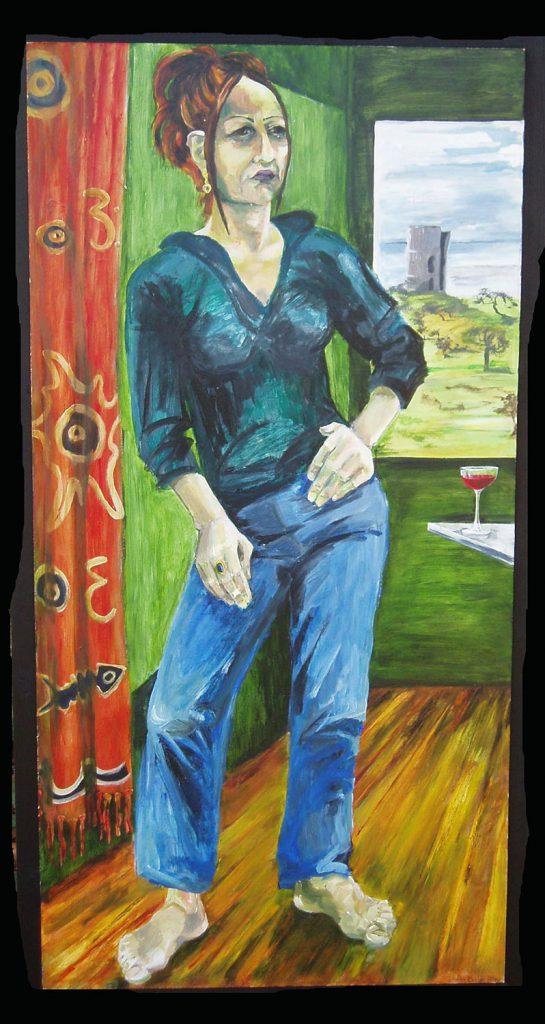 Peggy Jane Painting by Greta Berlin