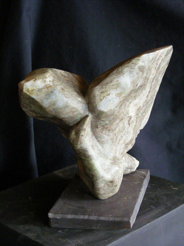 Preening Small Sculpture Greta Berlin