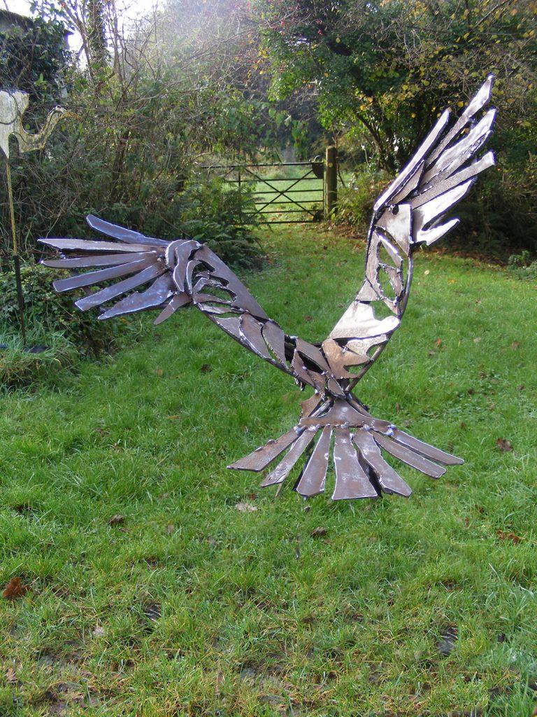Raptor Small Sculpture Greta Berlin
