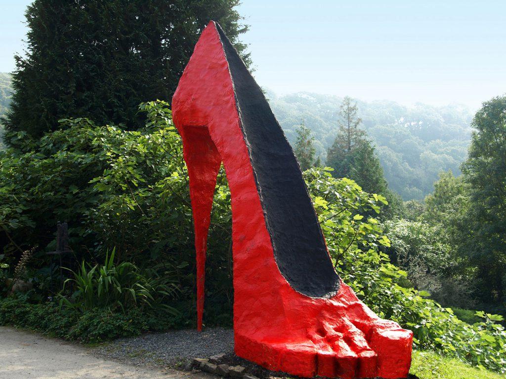 Shoe Sculpture by Greta Berlin