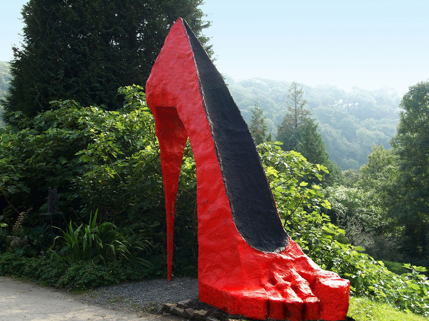 Shoe Sculpture by Greta Berlin