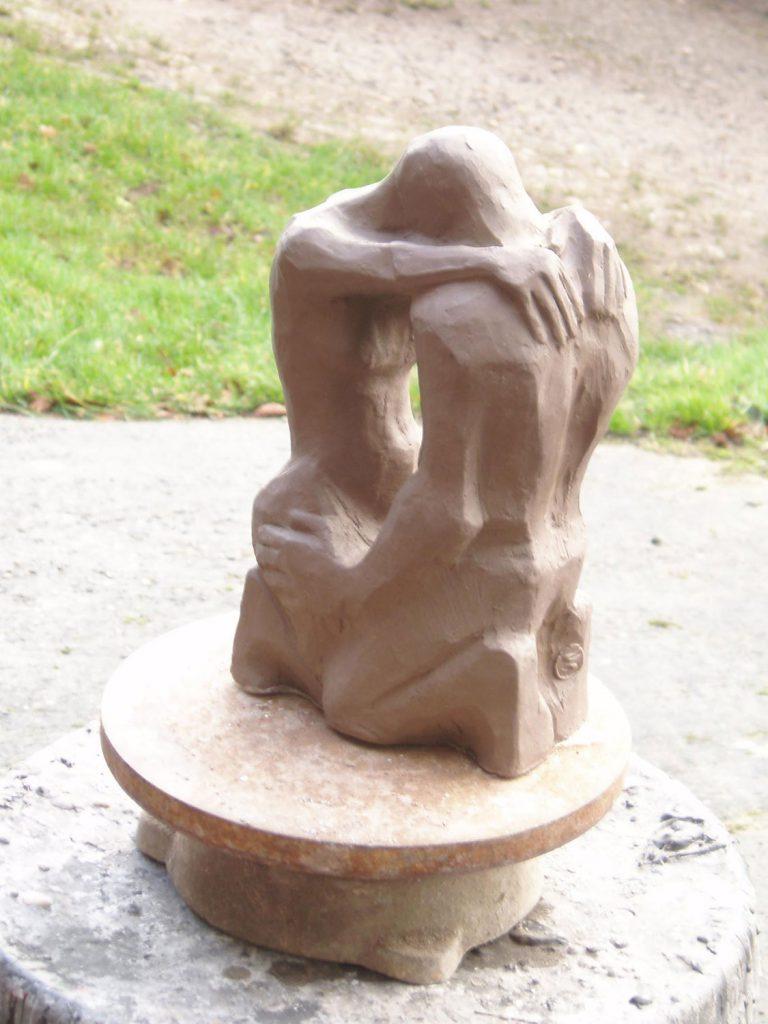 Space Between Maquette small Sculpture Greta Berlin