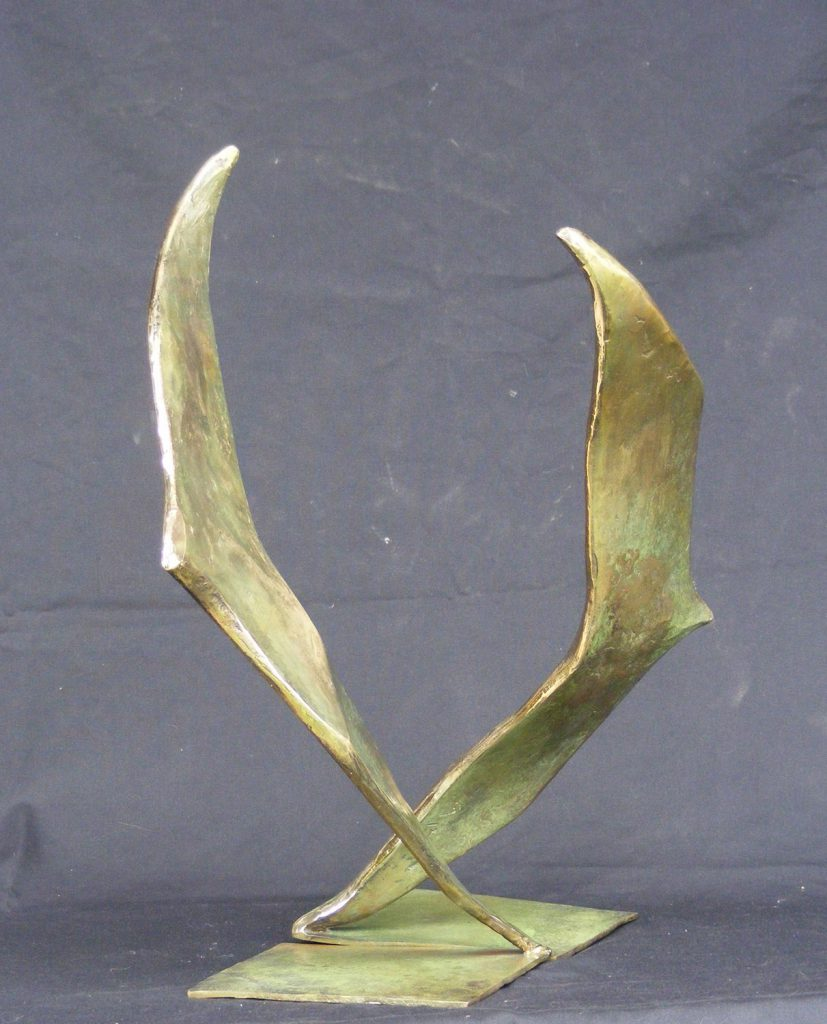Wing Tips Small Sculpture Greta Berlin