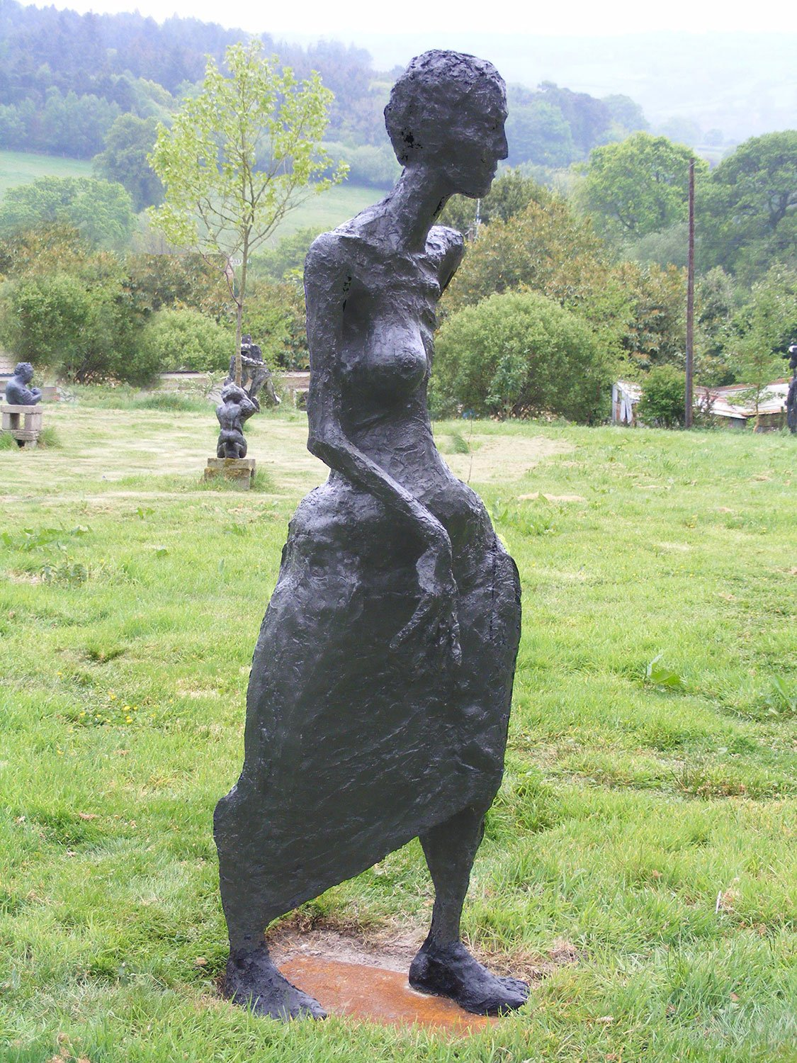 Woman Sculpture by Greta Berlin