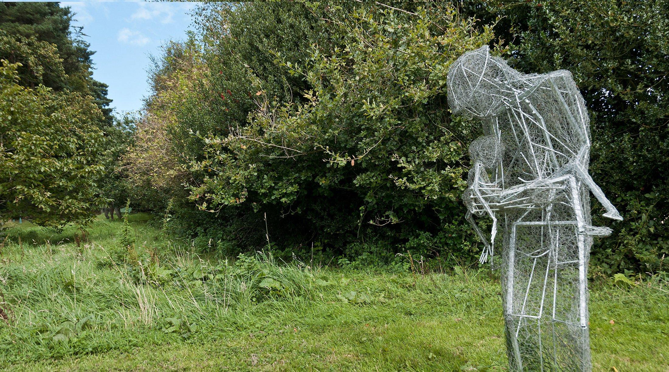 Man Child Sculpture Greta Berlin
