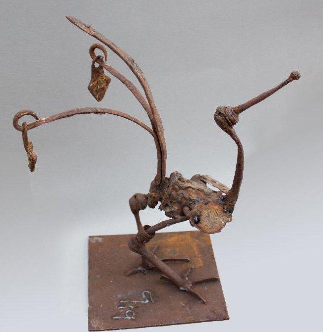 Detritus Bird Dancing Peacock