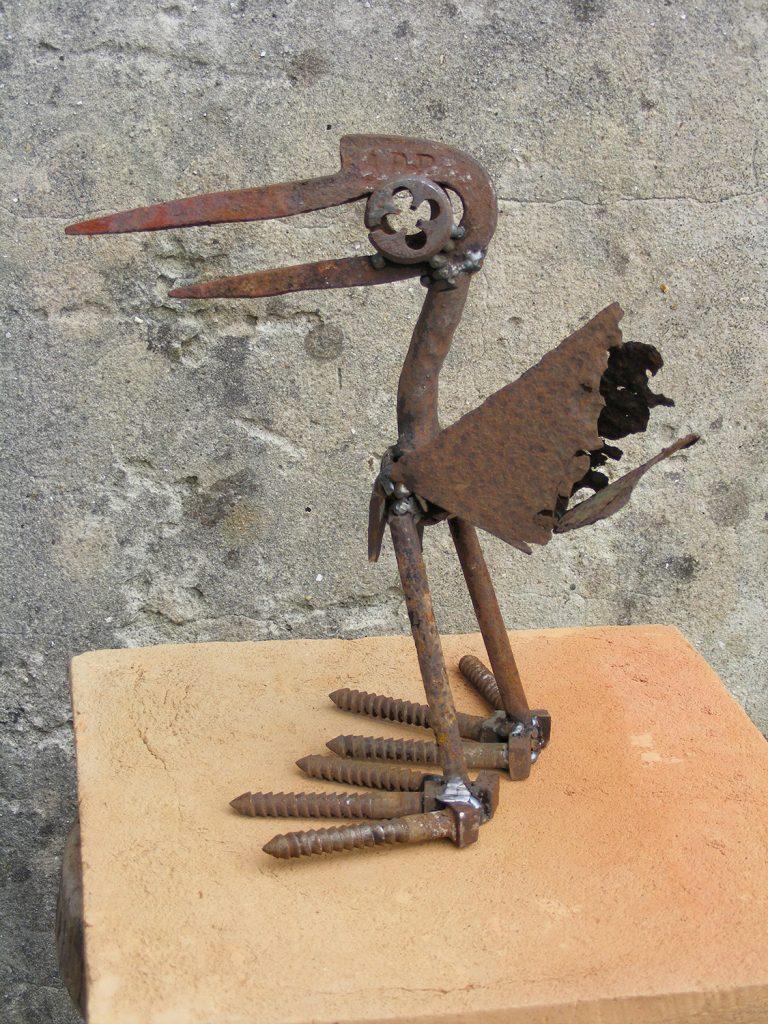 Big Feet Steel Sculpture